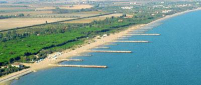 Panoramica di Eraclea Mare